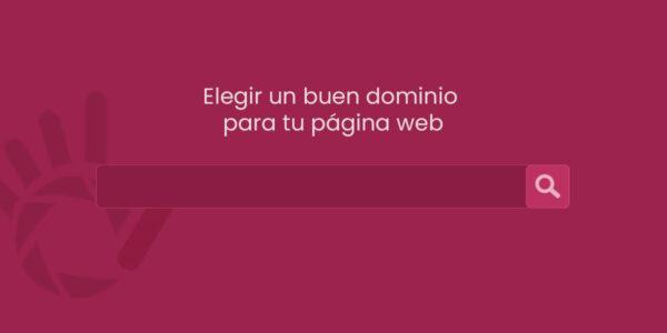 elegir un buen dominio para tu página web